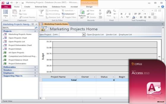 Curso online de Microsoft Access 2010