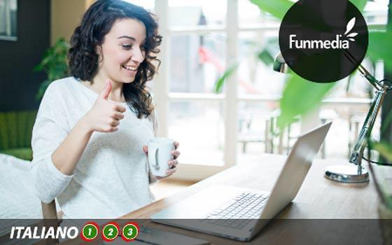 Curso online de Italiano 3, 6 ó 12 meses de acceso