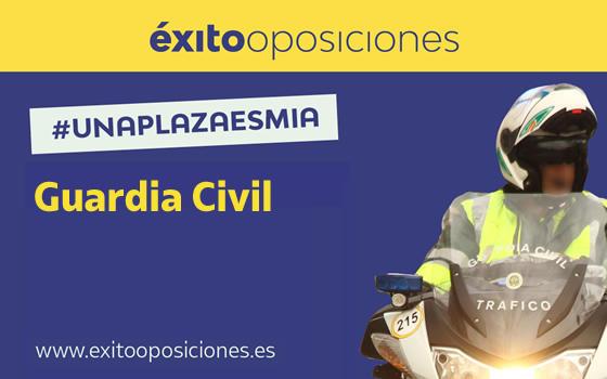 Curso online de Preparación de Oposiciones a Guardia Civil
