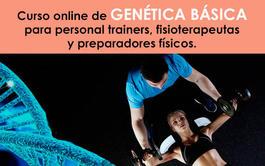 Curso virtual (Online) de Genética Básica para Fitness, Personal Trainers, Preparadores Físicos y Fisioterapeutas